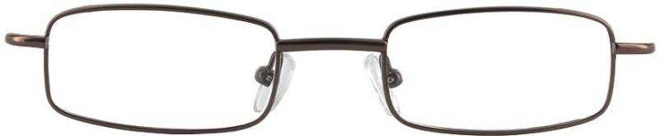 Prescription Glasses Model 7731-BROWN-FRONT