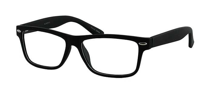 Prescription Glasses Model ACADEMY-BLACK-45