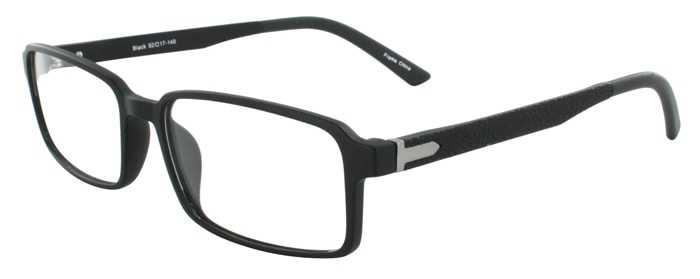 Prescription Glasses Model ADAM-BLACK-45