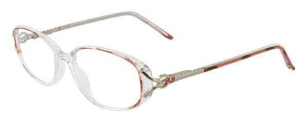 Prescription Glasses Model APRIL-BROWN-45