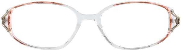 Prescription Glasses Model APRIL-BROWN-FRONT