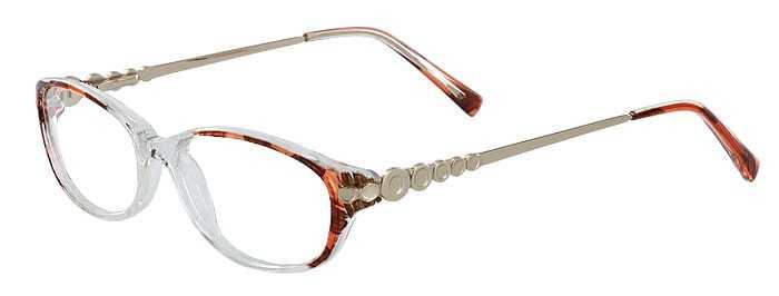 Prescription Glasses Model ARLENE-BROWN-45