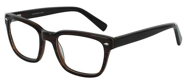 Prescription Glasses Model ART-301-BROWN-45