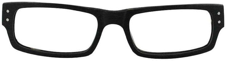 Prescription Glasses Model ART-302-BLACK-FRONT
