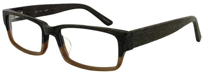 Prescription Glasses Model ART 310-BROWN TAN WOOD-45