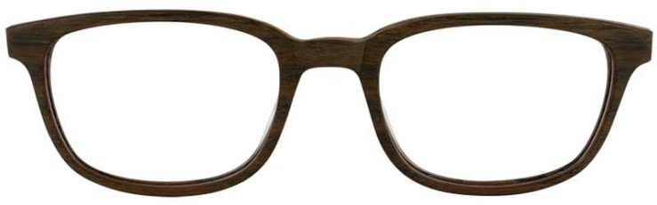 Prescription Glasses Model ART309-BAMBOO-FRONT