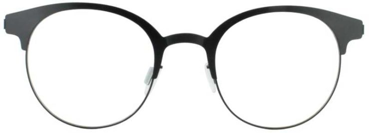 Prescription Glasses Model ART323-BLACK-FRONT