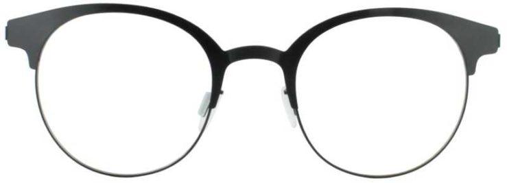 Prescription Glasses Model ART323-BLACK-FRONT