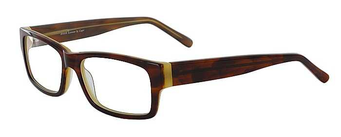 Prescription Glasses Model ART404-HAVANA-CREME-45