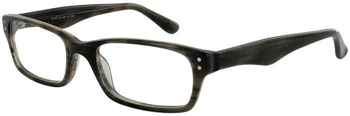 Prescription Glasses Model ART408-GREY HORN-45