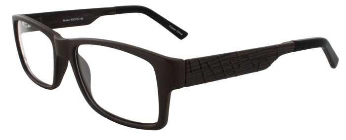 Prescription Glasses Model BRIAN-BROWN-45