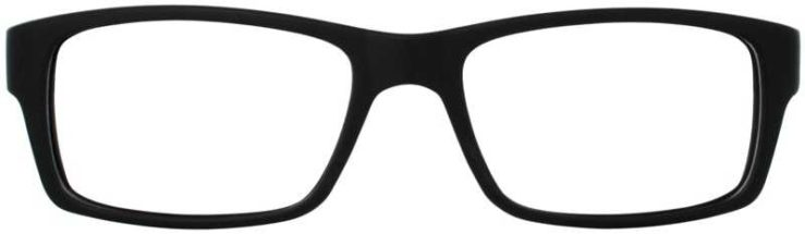 Prescription Glasses Model BRIAN-BLACK-FRONT