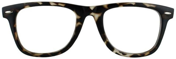 Prescription Glasses Model COLLEGE-TORTOISE-FRONT