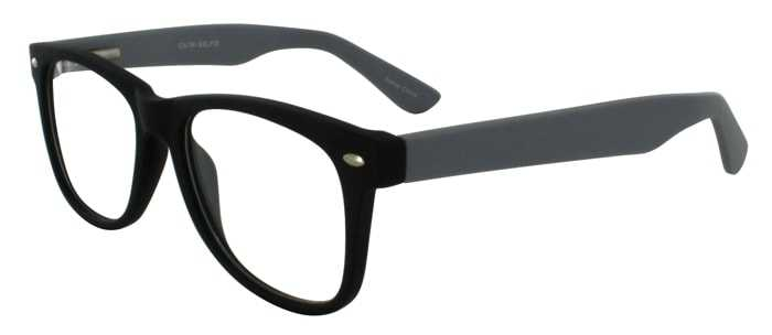 Prescription Glasses Model SELFIE-BLACKGREY-45