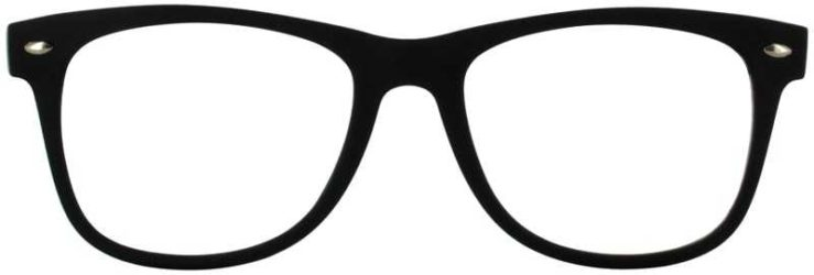 Prescription Glasses Model SELFIE-BLACKGREY-FRONT