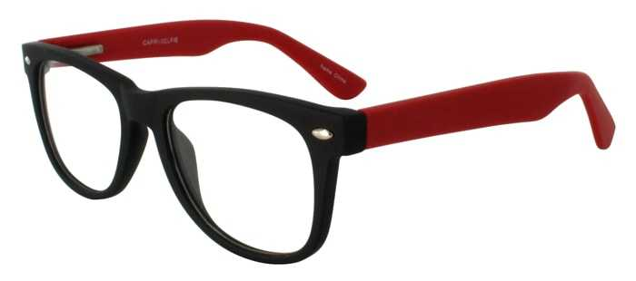 Prescription Glasses Model SELFIE-BLACKRED-45