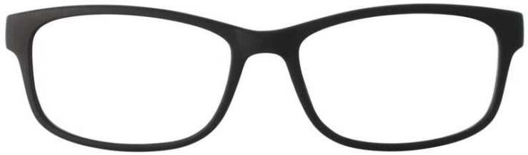 Prescription Glasses Model TEXT-BLACK-FRONT