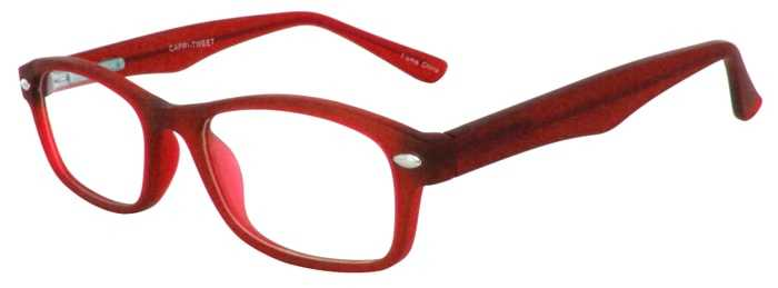 Prescription Glasses Model TWEET-RED-45