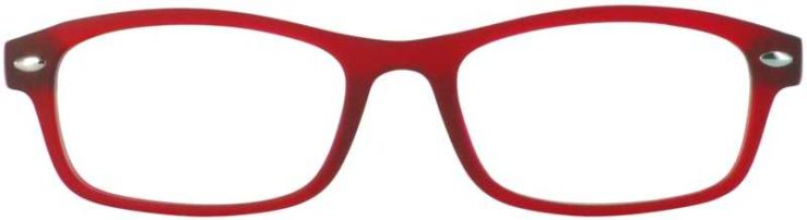 Prescription Glasses Model TWEET-RED-FRONT