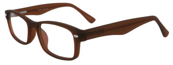 Prescription Glasses Model UPLOAD-BROWN-45