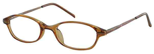 Prescription Glasses Model CAROUSEL-BROWN-45