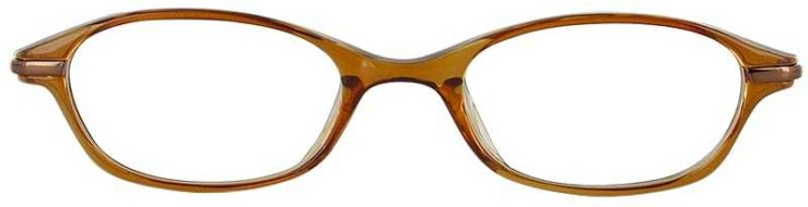 Prescription Glasses Model CAROUSEL-BROWN-FRONT