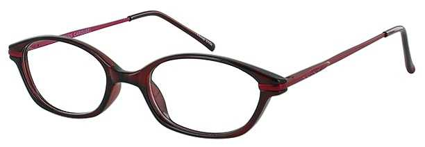 Prescription Glasses Model CAROUSEL-BURGUNDY-45