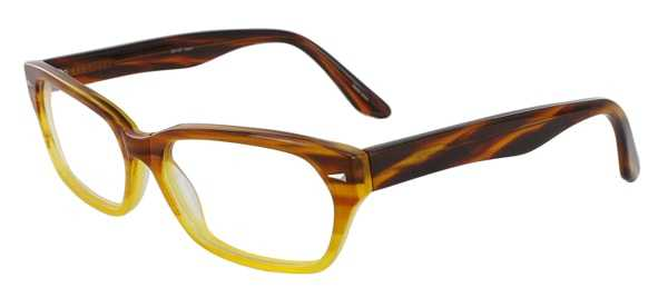 Prescription Glasses Model DC107-BROWN-45