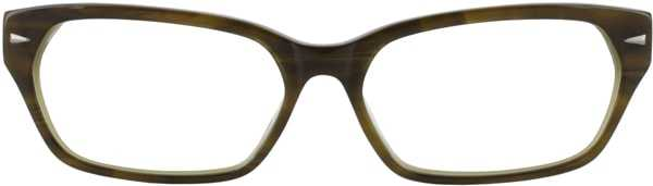 Prescription Glasses Model DC107-OLIVE-FRONT