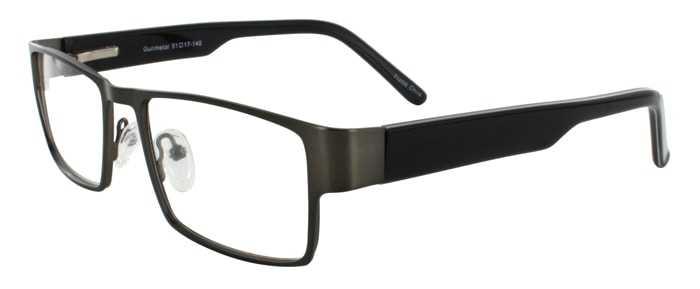 Prescription Glasses Model DC109-GUNMETAL-45