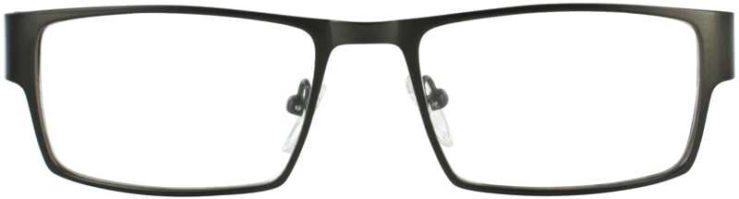 Prescription Glasses Model DC109-GUNMETAL-FRONT
