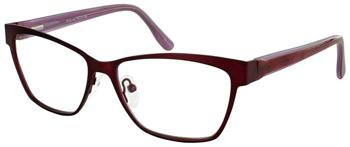 Prescription Glasses Model DC113-BURGUNDY-45
