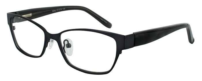 Prescription Glasses Model DC114-GREY-45