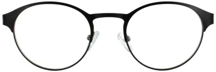 Prescription Glasses Model DC115-BLACK-FRONT
