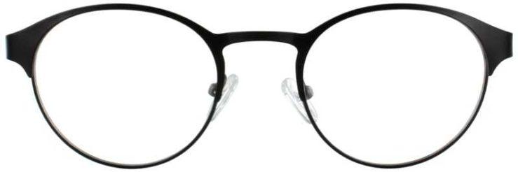 Prescription Glasses Model DC115-BLACK-FRONT