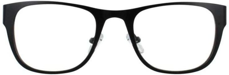 Prescription Glasses Model DC117-BLACK-FRONT