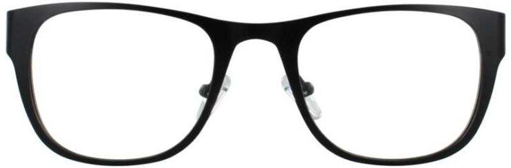 Prescription Glasses Model DC117-BLACK-FRONT