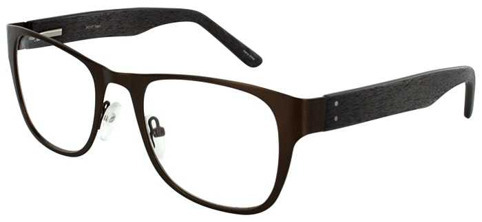 Prescription Glasses Model DC117-BROWN-45