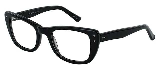 Prescription Glasses Model DC119-BLACK-45