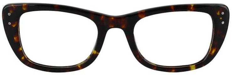 Prescription Glasses Model DC119-TORTOISE-FRONT