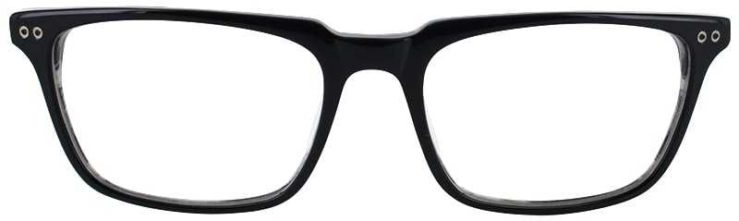 Prescription Glasses Model DC123-BLACK-front
