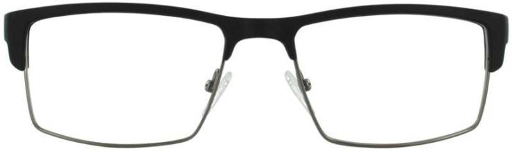 Prescription Glasses Model DC124-BLACK-FRONT