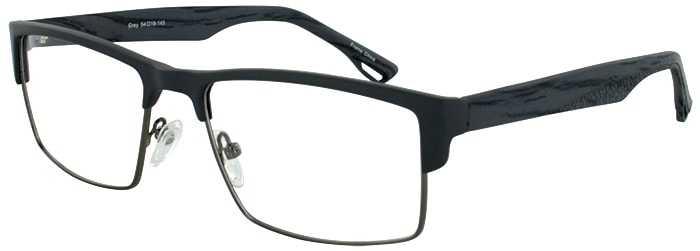 Prescription Glasses Model DC124-GREY-45