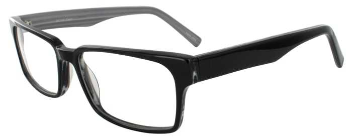Prescription Glasses Model DC125-BLACK-45