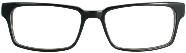 Prescription Glasses Model DC125-BLACK-FRONT