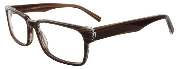 Prescription Glasses Model DC125-BROWN-45