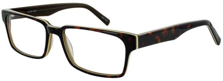 Prescription Glasses Model DC125-TORTOISE-45