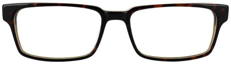 Prescription Glasses Model DC125-TORTOISE-FRONT