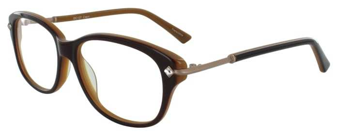 Prescription Glasses Model DC127-BROWN-45