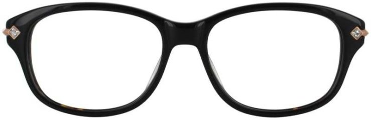 Prescription Glasses Model DC127-TORTOISE-FRONT